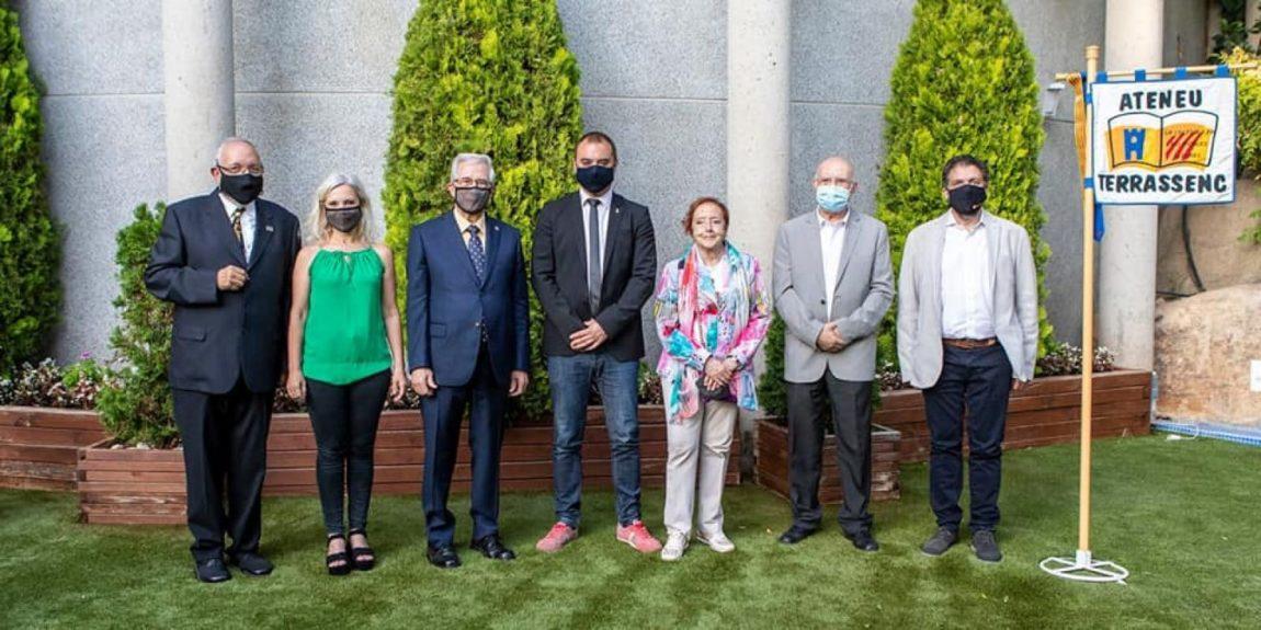 Celebració dels 25 anys de la refundació de l'Ateneu Terrassenc