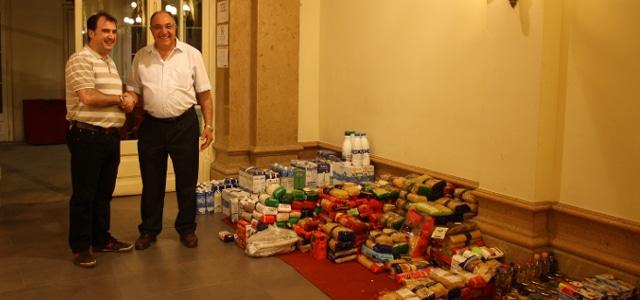 El Casal de Vilafranca recull 700 kg d'aliments!