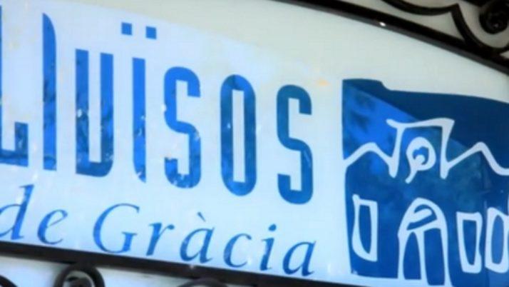 Campanya de Lluïsos de Gràcia per recaptar fons