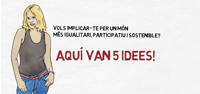 5 idees per implicar-te en un món més igualitari!