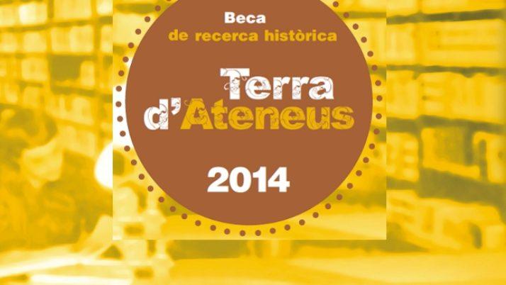 David Cao guanya la I Beca de Recerca Històrica «Terra d'Ateneus»