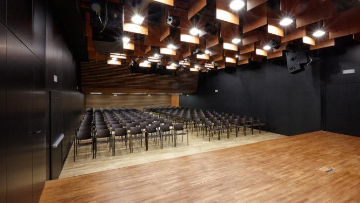 L'Orfeó Lleidatà inaugurà l'auditori-sala Espai Orfeó