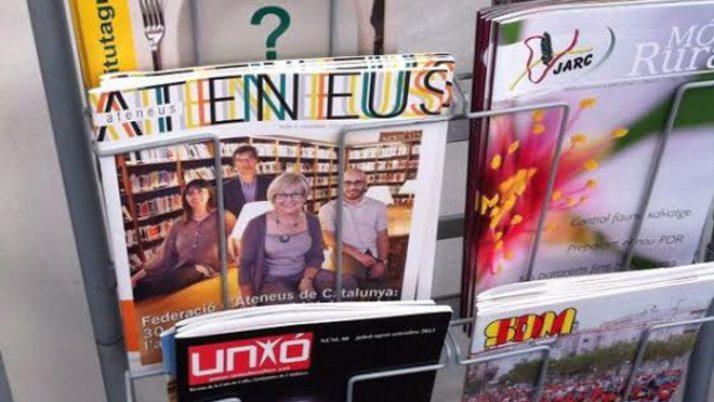 Per Sant Jordi, la revista Ateneus al Quiosc·cat