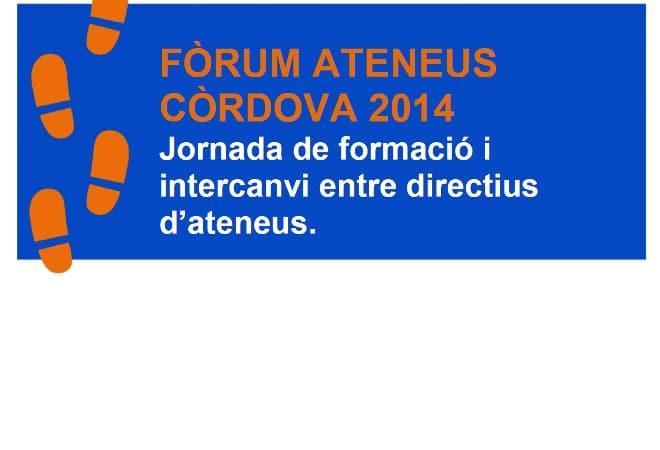 Fòrum Ateneus: Còrdova 2014