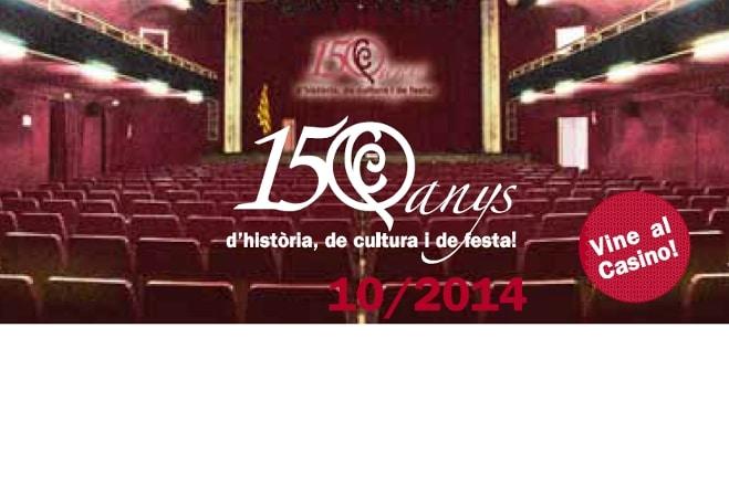 El Casino de Caldes tanca els actes de celebració del seu 150é aniversari