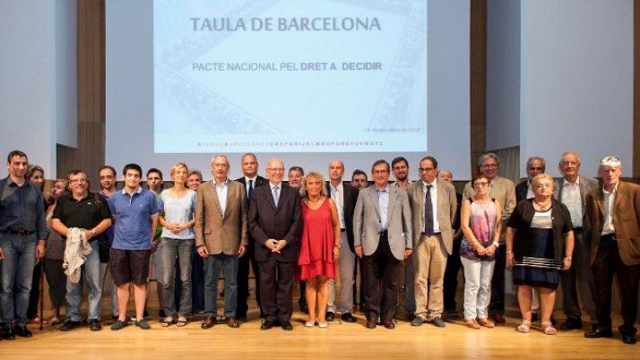 Les entitats i associacions de Barcelona sumen forces pel Dret a Decidir