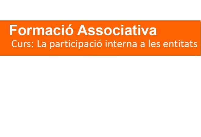 Formació en participació interna a les entitats