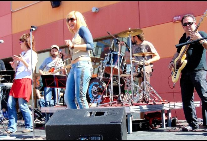 El blues i rock de Sam's Band