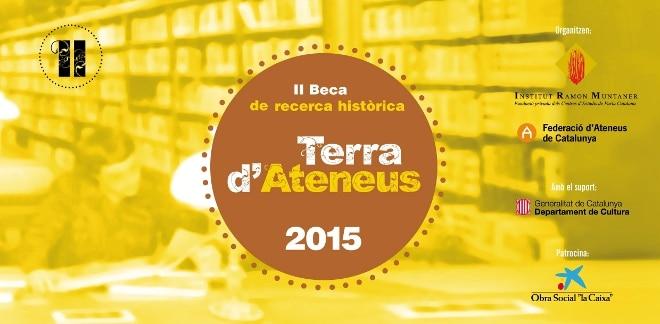 Jordi Albaladejo guanya la II Beca de Recerca Històrica «Terra d'Ateneus»