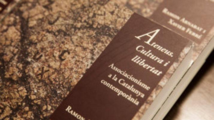 El llibre dels ateneus es presentarà a l'Ateneu Arenyenc el 13 de setembre