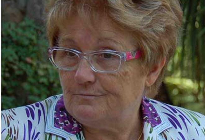Vicenta Pallarès, vicepresidenta del Casino de Caldes: Creu de Sant Jordi 2015