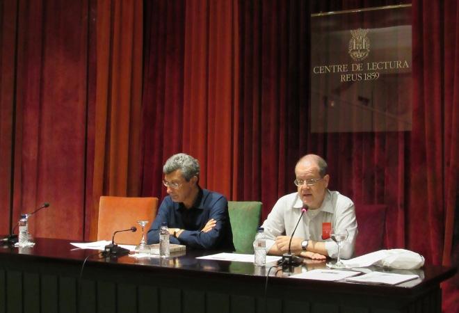 La Societat Nova de Banyeres del Penedès acull la presentació del llibre dels ateneus