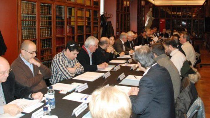 El Consell de l'Associacionisme Cultural, a Vilafranca del Penedès, el 31 d'octubre