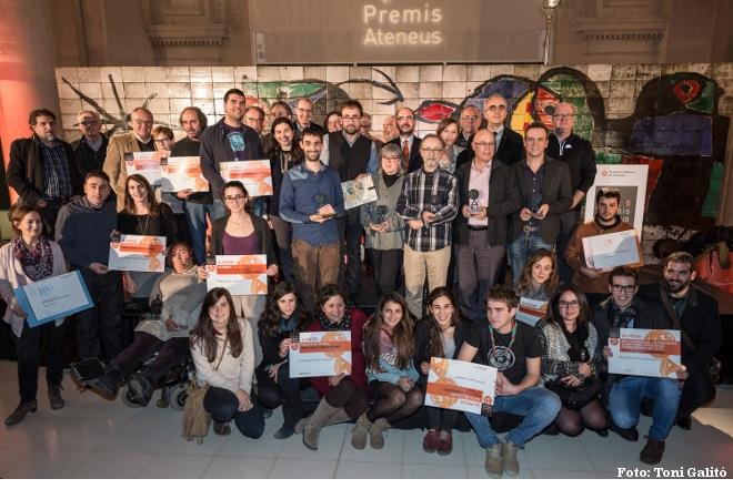 El MNAC acull els PREMIS ATENEUS 2015