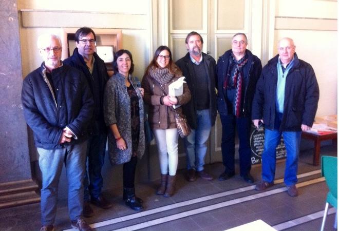 El Casino Llagosterenc, seu de la delegació territorial de la FAC a Girona