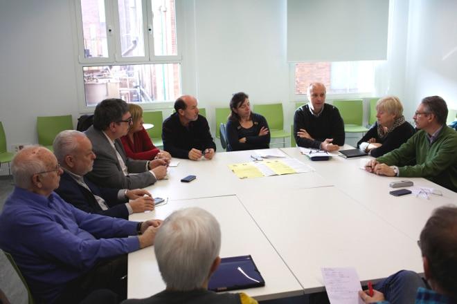 L'Ateneu barcelonès, seu de la delegació territorial de la FAC a Barcelona