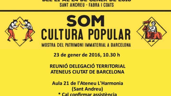 Primera reunió de la Delegació Territorial de Barcelona
