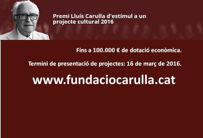 Entitats, el vostre projecte cultural té premi!