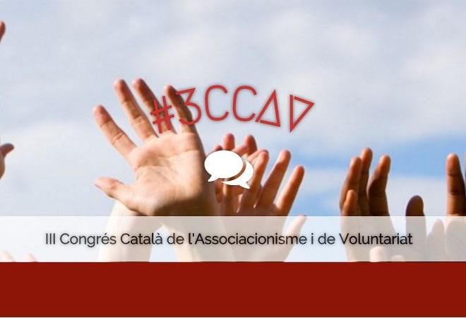 20 de maig: 3er Congrés de l'Associacionisme i de Voluntariat al CCCB
