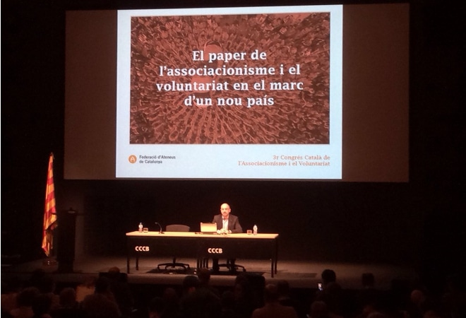 """Salvador Casals al #3CCAV: """"L'associacionisme té un ADN transformador"""""""