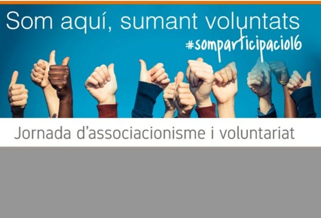 Inscriu-te a la Jornada d'associacionisme i voluntariat