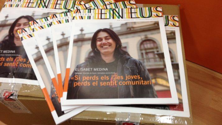 Els i les joves a la revista Ateneus 15!