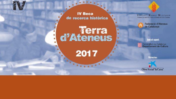 Un estudi sobre l'associacionisme al Montsià és guanyador de la IV Beca de Recerca Històrica Terra d'Ateneus