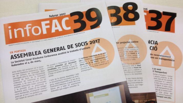 L'InfoFAC 40 a l'abast de les entitats!