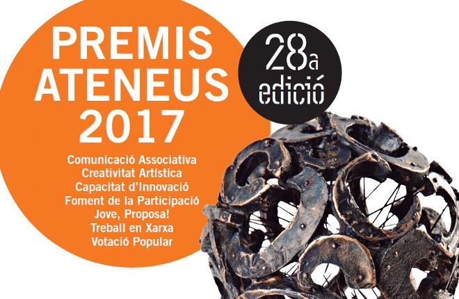 Convocats els Premis Ateneus 2017