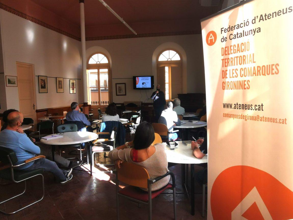 L'activitat anual de la DT Girona pel 2021 serà un cicle itinerant de cantautors i cantautores de les comarques gironines