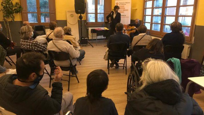 Aforament complet als primers recitals del Cicle de Poesia i Arts de la DT Girona