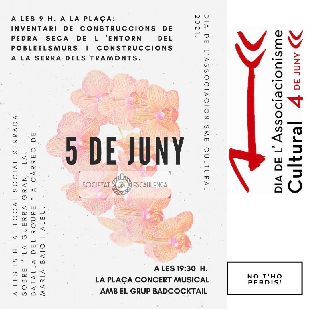 Jornada de celebració de l'associacionisme cultural a la Unió Escaulenca