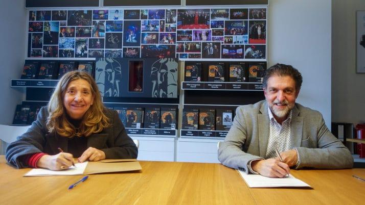 La FAC es vincula al Cicle Gaudí amb la signatura d'un conveni amb l'Acadèmia del Cinema Català