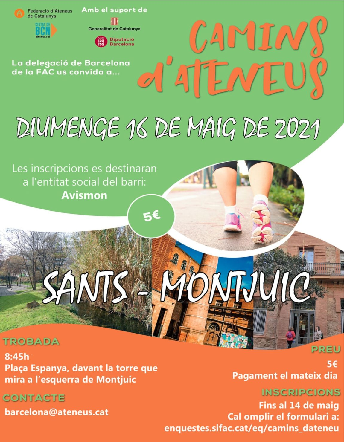 Torna Camins d'Ateneus Sants-Montjuïc