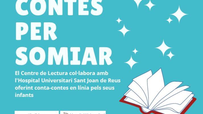 El Centre de Lectura de Reus i l'Hospital de Sant Joan impulsen el projecte «Contes per somiar»