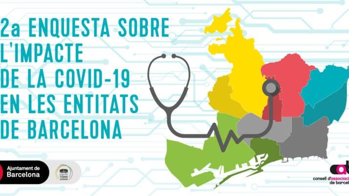 Participa a l'enquesta el·laborada per Torre Jussana sobre l'impacte del COVID a les entitats barcelonines