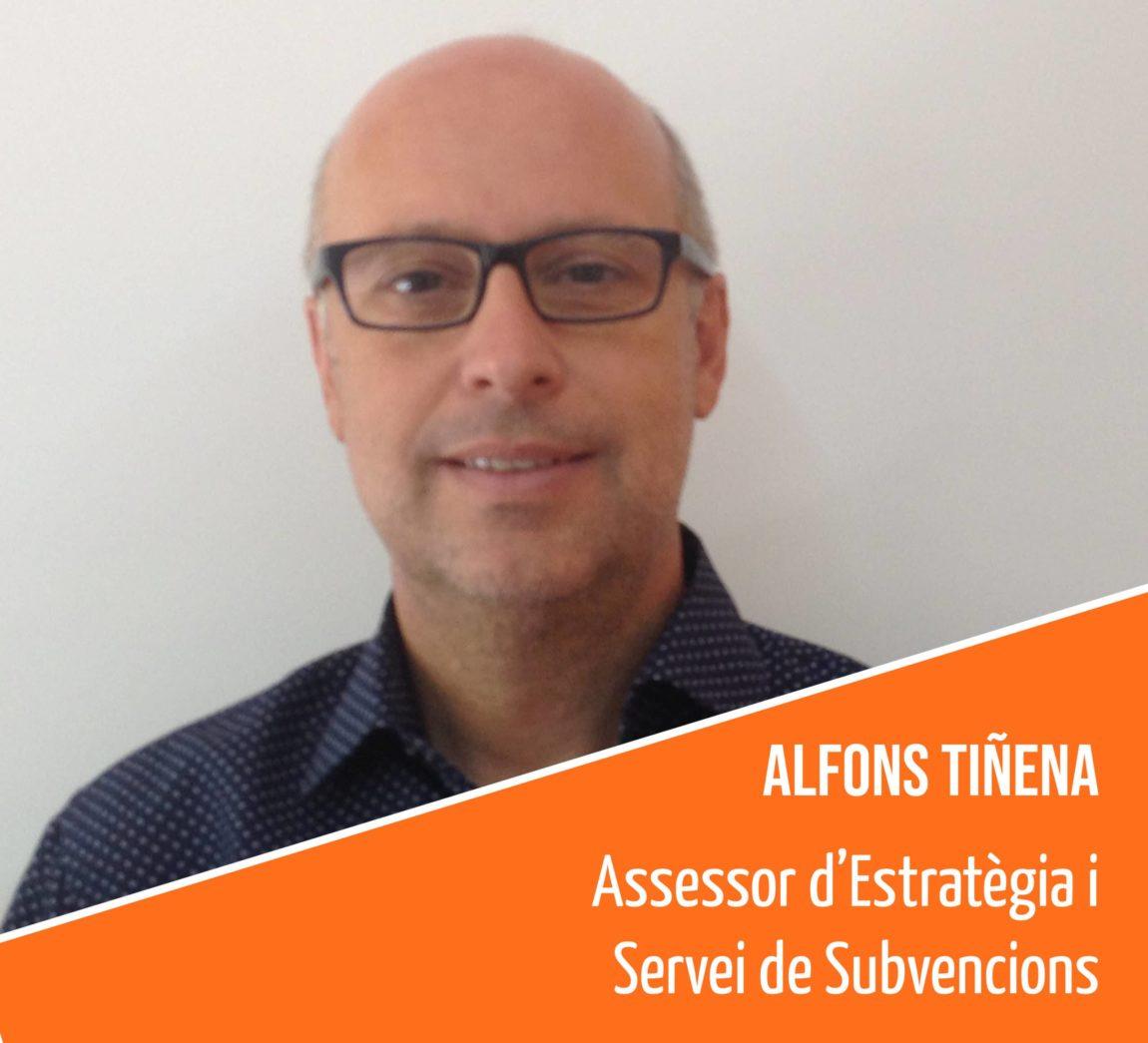 Coneix l'equip humà de la FAC: Alfons Tiñena, assessor d'Estratègia i Servei de Subvencions