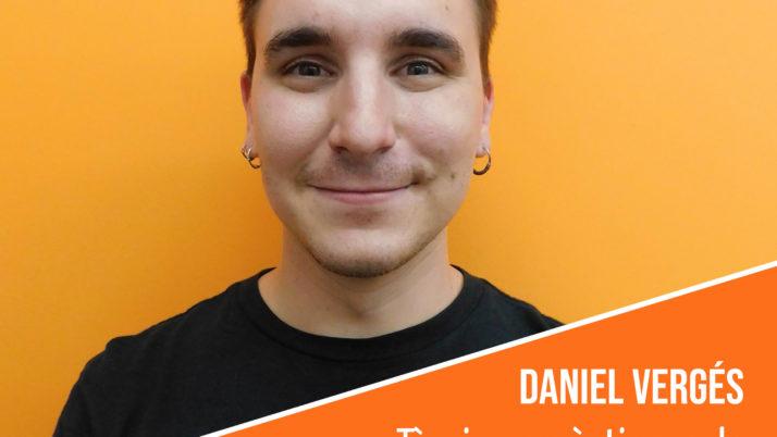 Coneix l'equip humà de la FAC: Daniel Vergés, tècnic de projectes