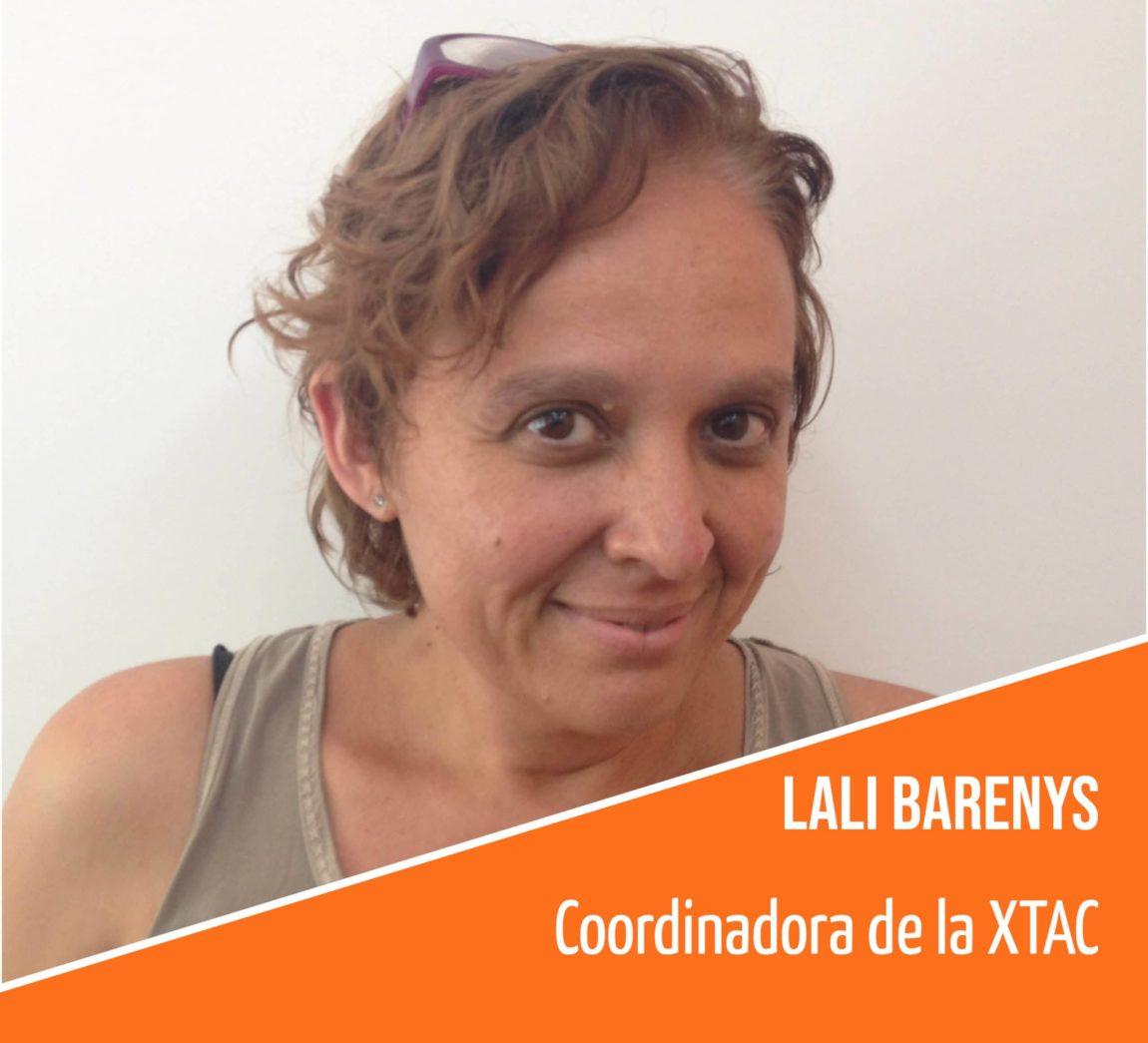 Coneix l'equip humà de la FAC: Lali Barenys, coordinadora de la XTAC