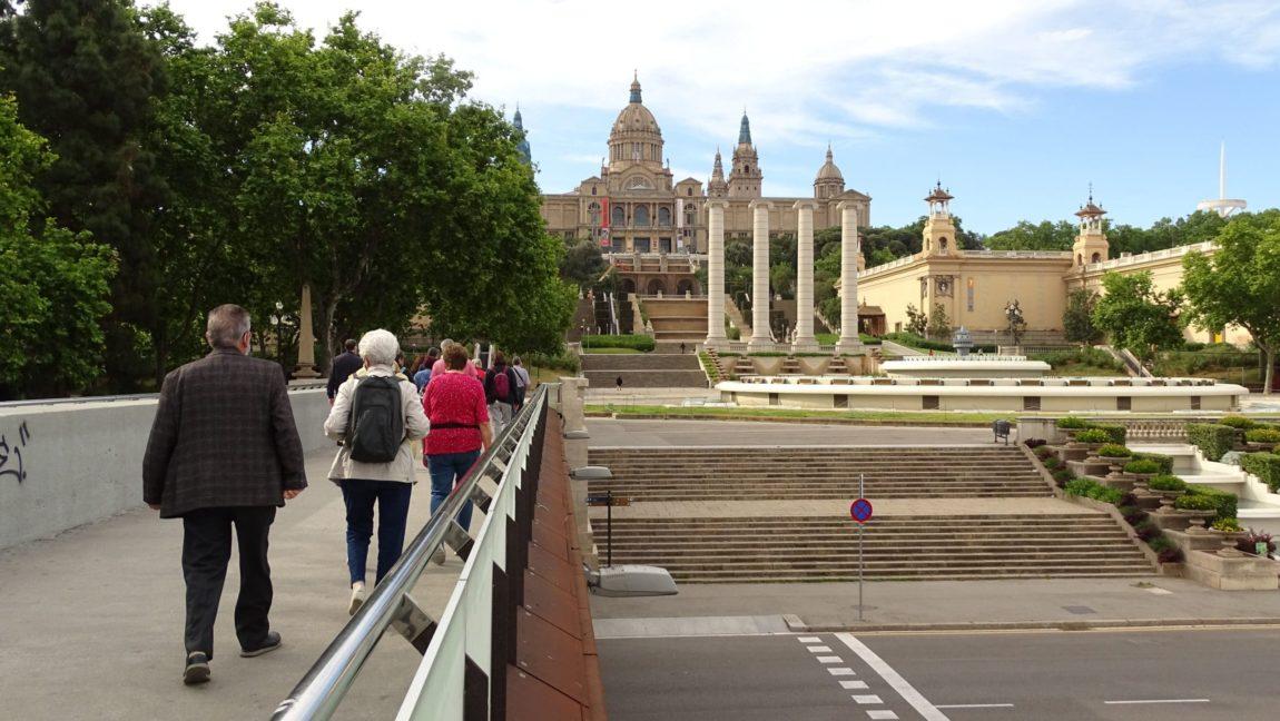 L'excursió de Camins d'Ateneus a Sants-Montjuïc, tot un èxit