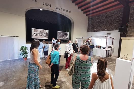 La Unió Escaulenca inaugura l'exposició dels seus 150 anys d'història