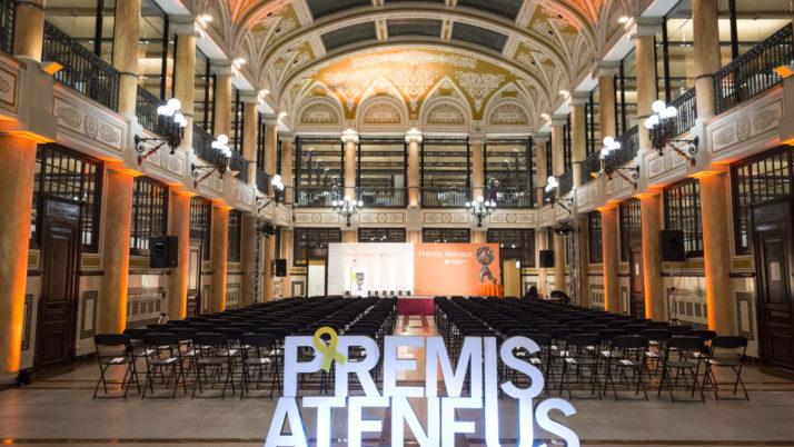 Gran participació en la 32a edició dels Premis Ateneus