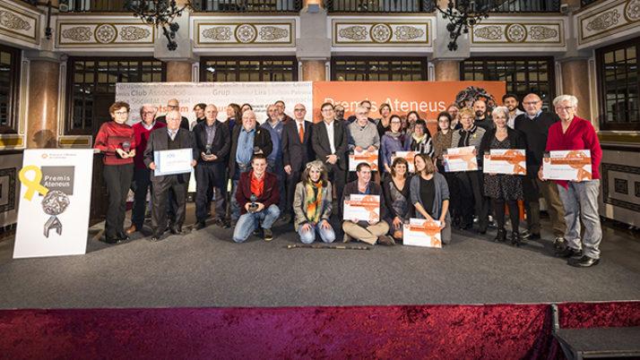 El 10 de novembre finalitza el termini per presentar propostes als Premis Ateneus