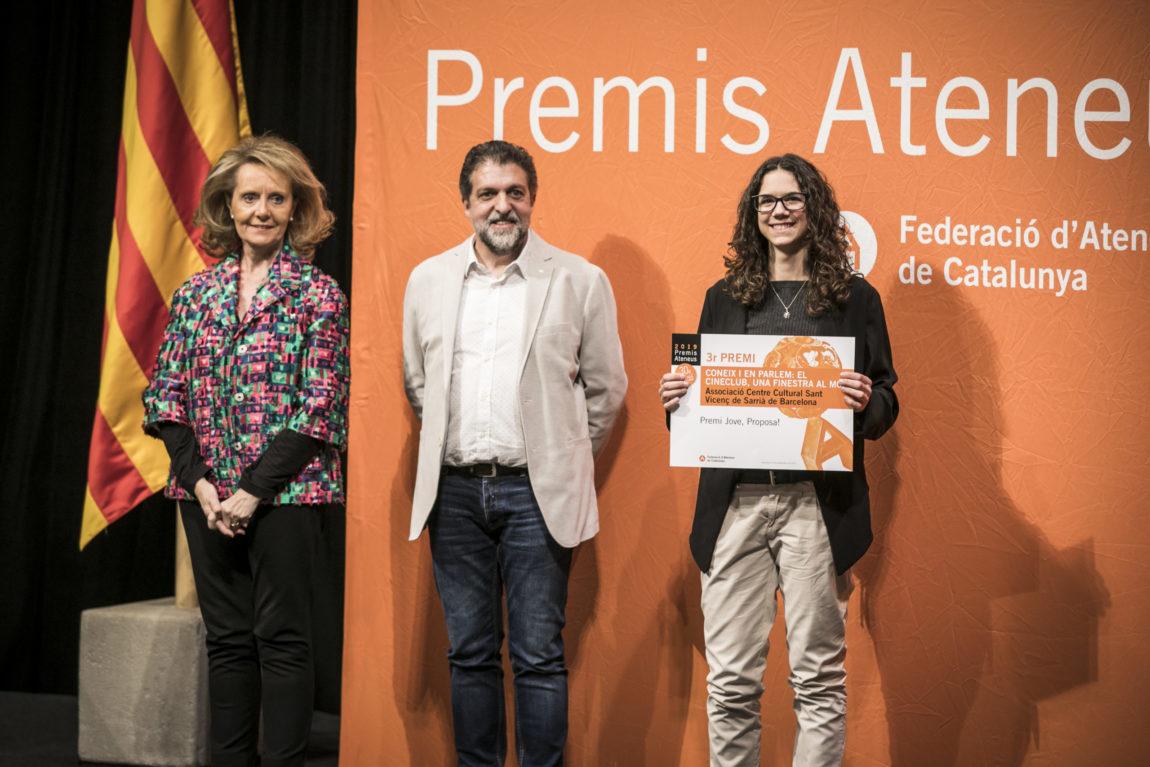 """Premis Ateneus, coneix les categories: """"Jove, proposa!"""""""