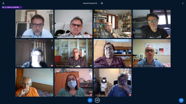 El president de la FAC es reuneix amb els ateneus federats