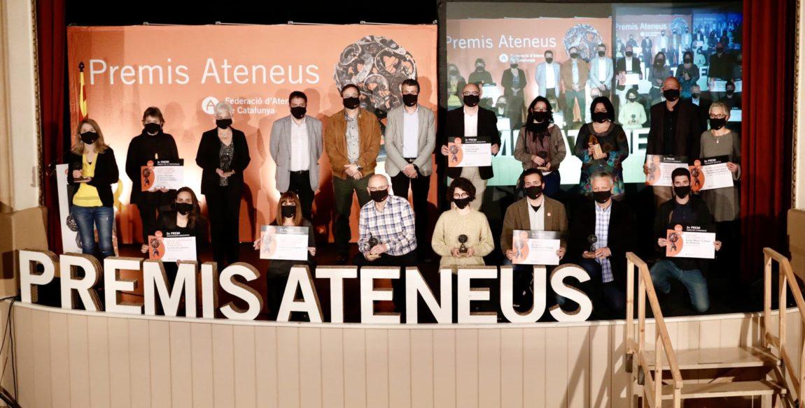 Consulteu els resultats de la gala dels Premis Ateneus 2020!