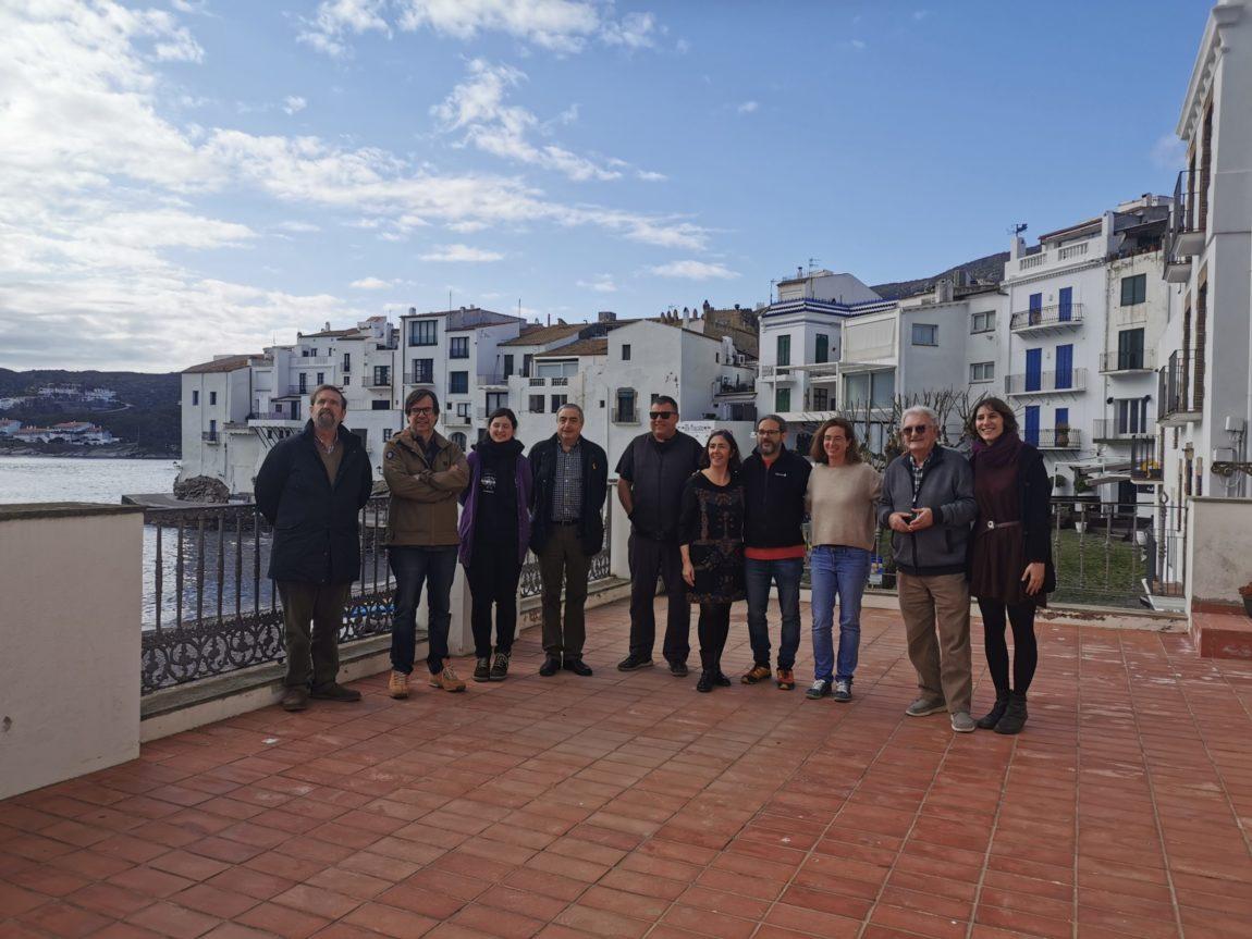 La delegació territorial de Girona celebra una junta oberta per presentar a la nova tècnica i definir els objectius del 2020