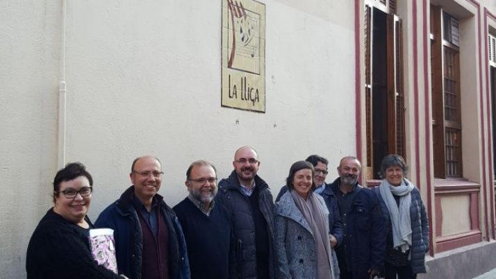 La Junta Directiva de la FAC es reuneix a La Lliga de Capellades