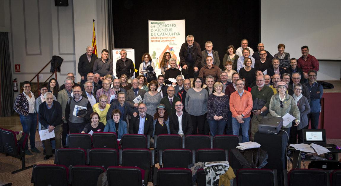 Pep Morella és escollit president de la Federació d'Ateneus de Catalunya
