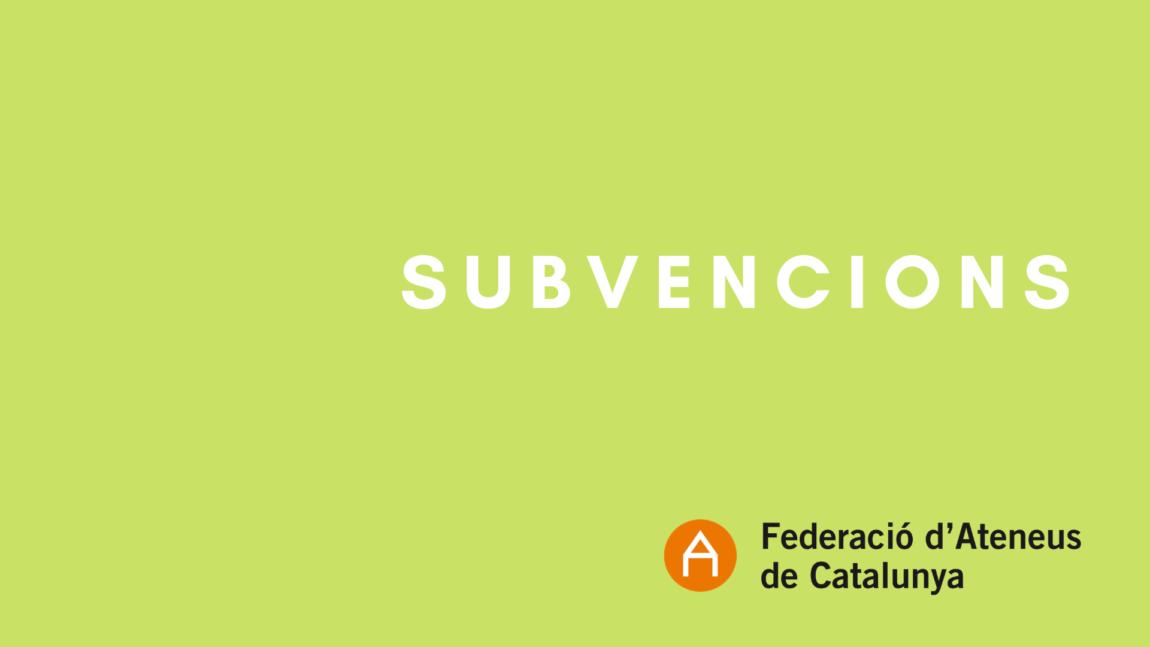 La Generalitat publica les bases de subvencions per compensar les pèrdues per la reducció forçada dels aforaments en espais escènics